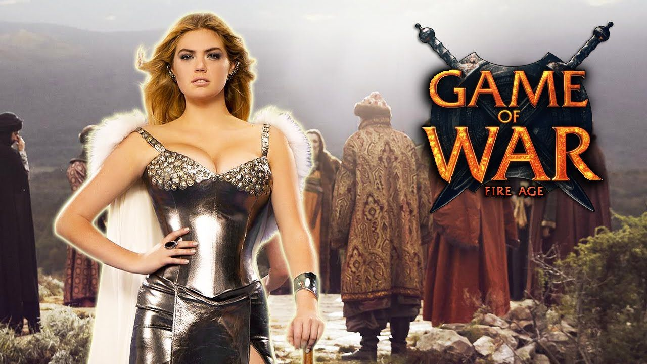 Mobile game commercial - Kate Upton Game Of War Google Search