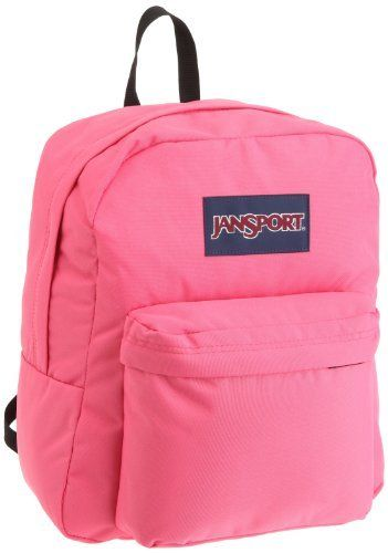 JanSport Spring Break Backpack (Pink Prep) by JanSport.  27.82. A slightly  smaller version of the classic SuperBreak pack.. Save 30%! 752ae831d8e8e