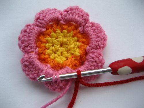 Flores En Crochet Paso A Paso Como Hacer Flores De Crochet Flor De - Como-hacer-una-flor-a-crochet
