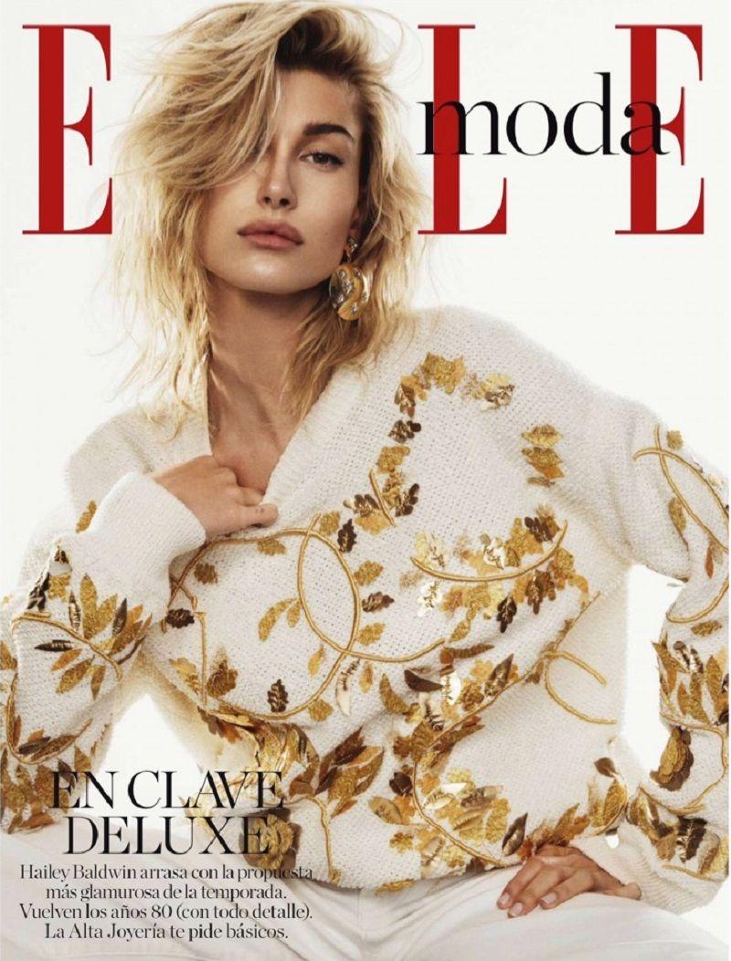 Watch Hailey baldwin fashion magazine october 2019 issue video