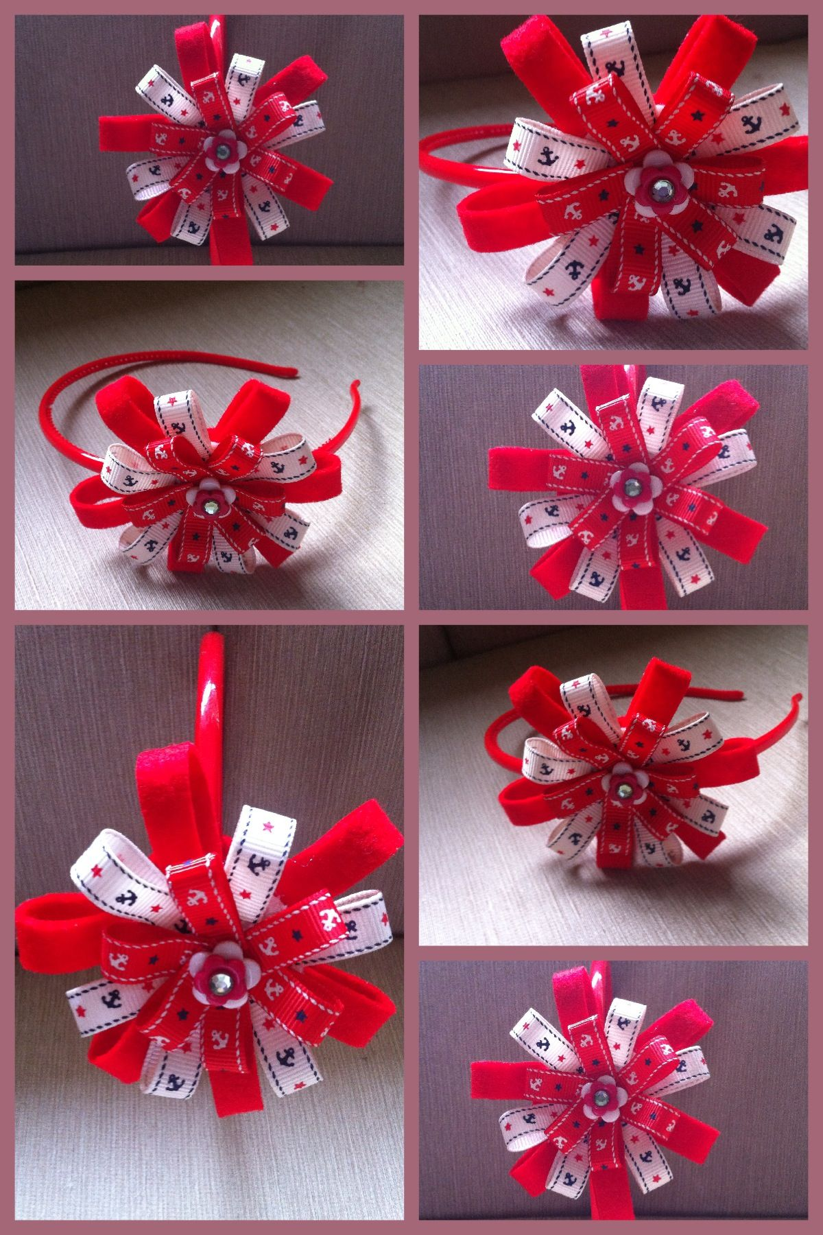 Ribbon Crafts On Pinterest