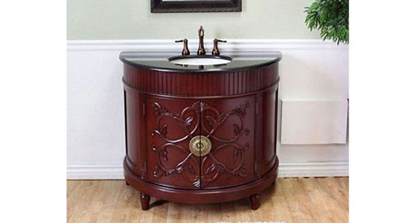 Half Circle Bathroom Vanity Google Search Wood Sink Best Bathroom Vanities Bathroom Vanity Store