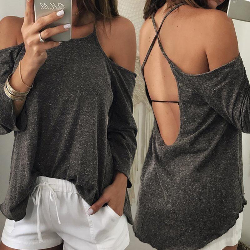 backless tshirt dress