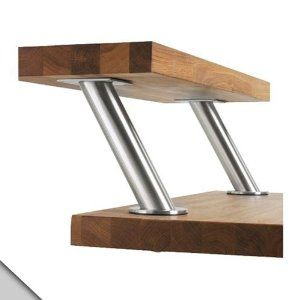 Capita Brackets For Raised Countertop Bar In Kitchen Wooden