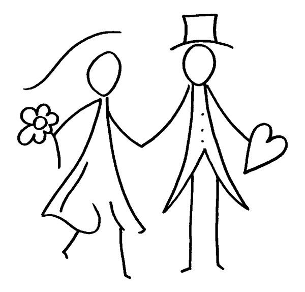 Brautpaar Visualisierung Bordado Dibujos Und Boda
