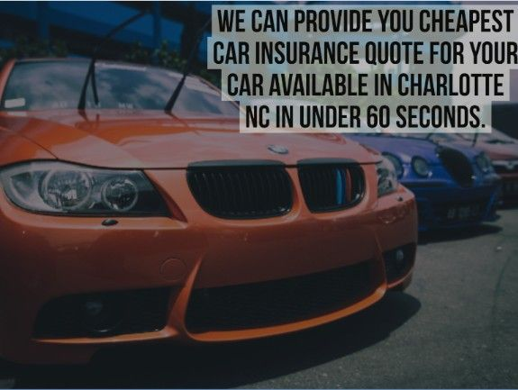 Car Insurance Quotes Nc To Make Your Cheap Car Insurance Charlotte Nc Easier We Researched .