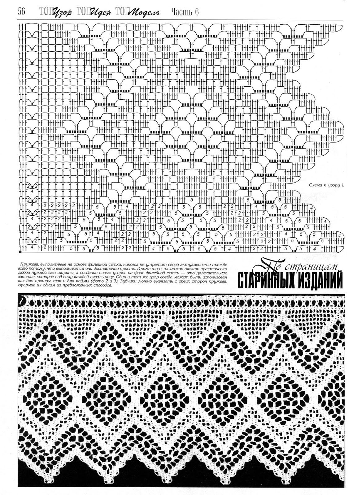 Pin by liliana brancaglione on bordi uncinetto pinterest crochet borders crochet patterns gallery album image search crochet lace crochet chart crochet pattern crochet stitches bankloansurffo Images