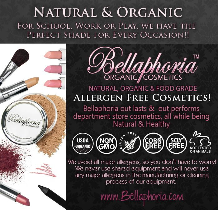 Which Makeup Brands Are Gluten Free Positive Health Wellness Infographic Gluten Free Makeup Brands Gluten Free Makeup Gluten Free Beauty Products