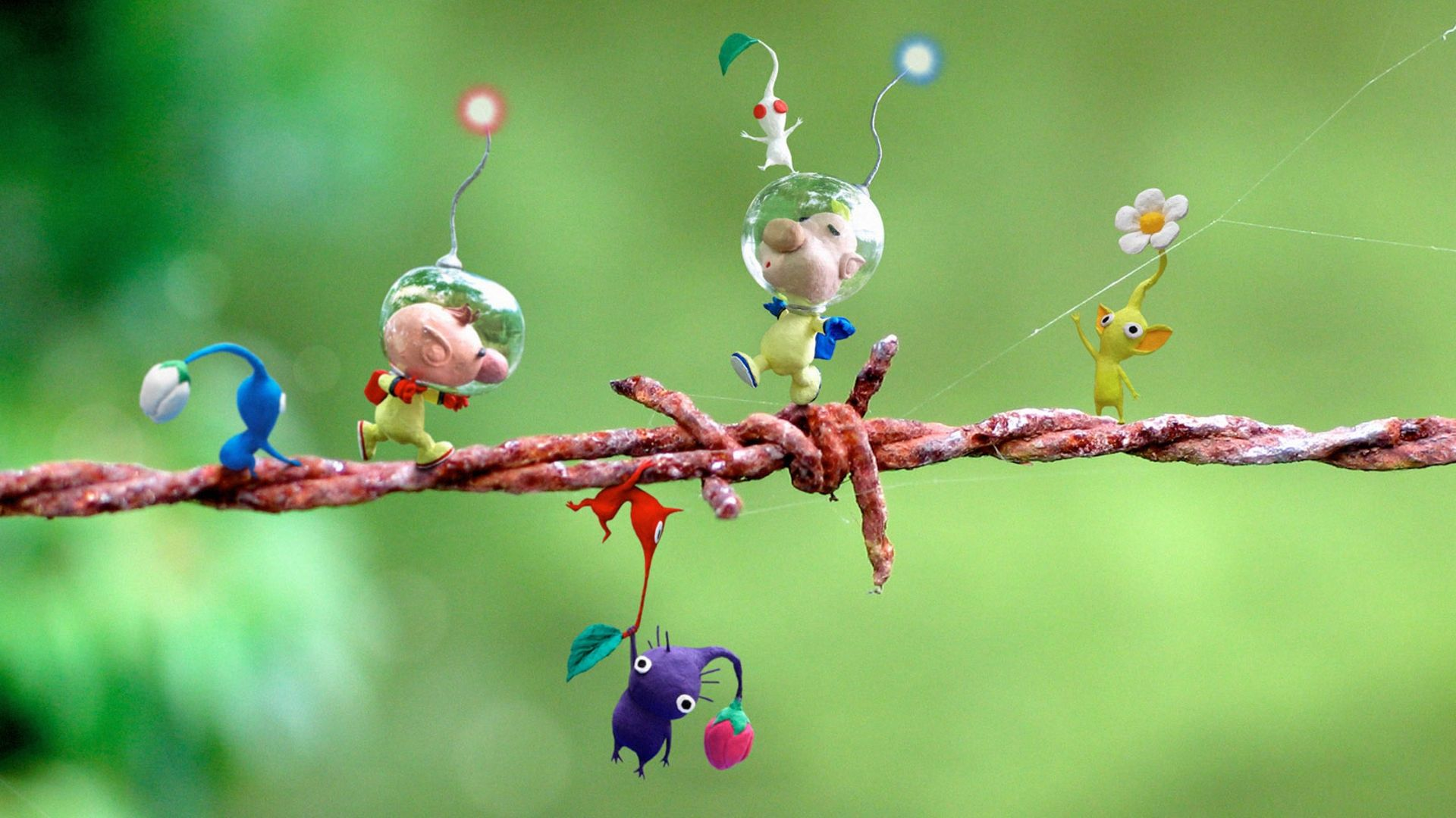 Pikmin 2 Gamecube Free Animated Wallpaper 3d Animation