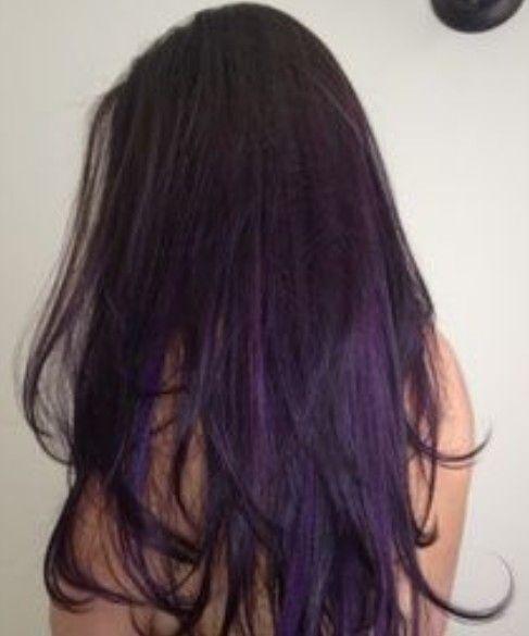 Purple Highlights For Summer Pretty Designs Hair Styles Purple Ombre Hair Purple Hair