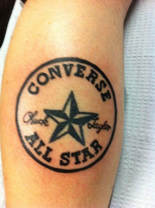 ada214c5fc38d0 Converse tattoo Color Tattoo