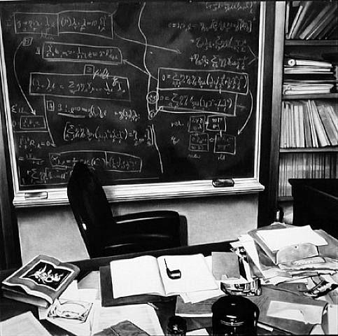 Einsteins Desk Princeton By Robert Longo