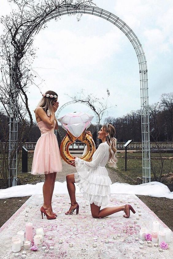 How to Propose to your Bridesmaids Pretty Happy Love