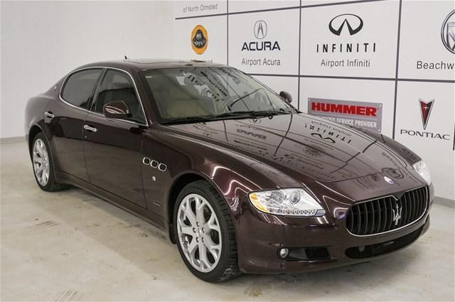2009 Maserati Quattroporte Base Sedan 4 Doors Burgundy For Sale In North Olmsted Oh Http Www Usedcarsgroup Com Maserati Quattroporte Maserati Cars For Sale