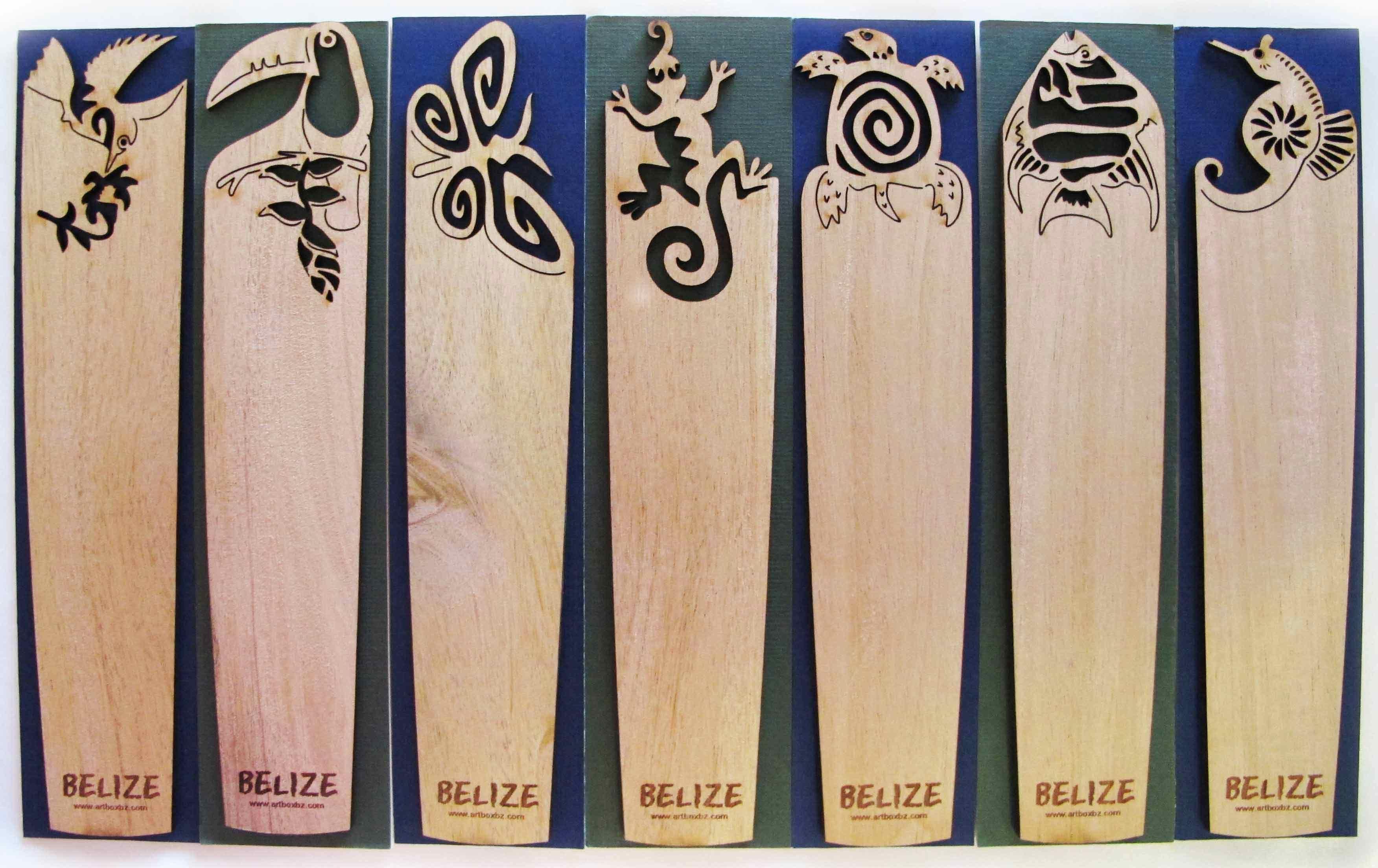 Engraved Wooden Bookmark J1 Book Markers Craft Stick Crafts Laser Cutter Ideas