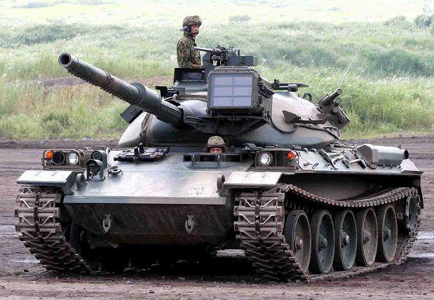 Japanese Type-74 MBT