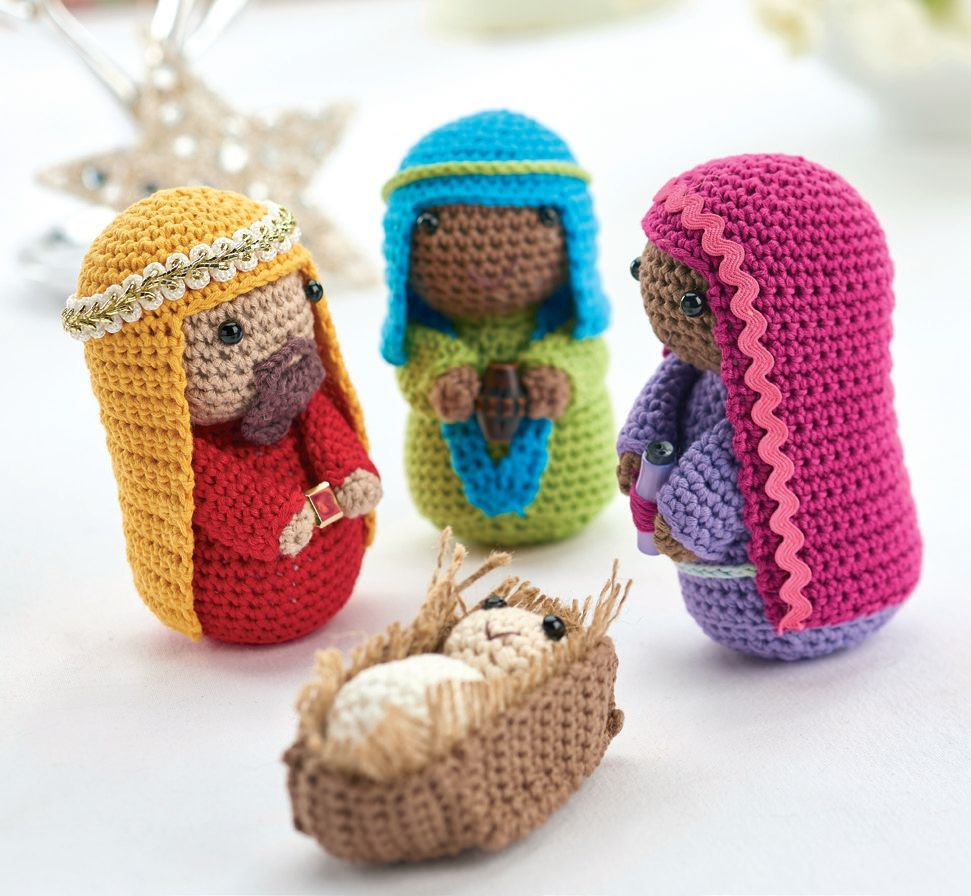 Crochet nativity: part 2 | Christmas crochet patterns ...