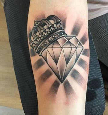 Diversas Tecnicas En Tatuajes De Corona Para Hombres Tatuajes Para
