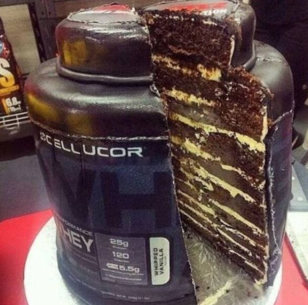 Perfect Birthday Cake For The Lifters In Your Life