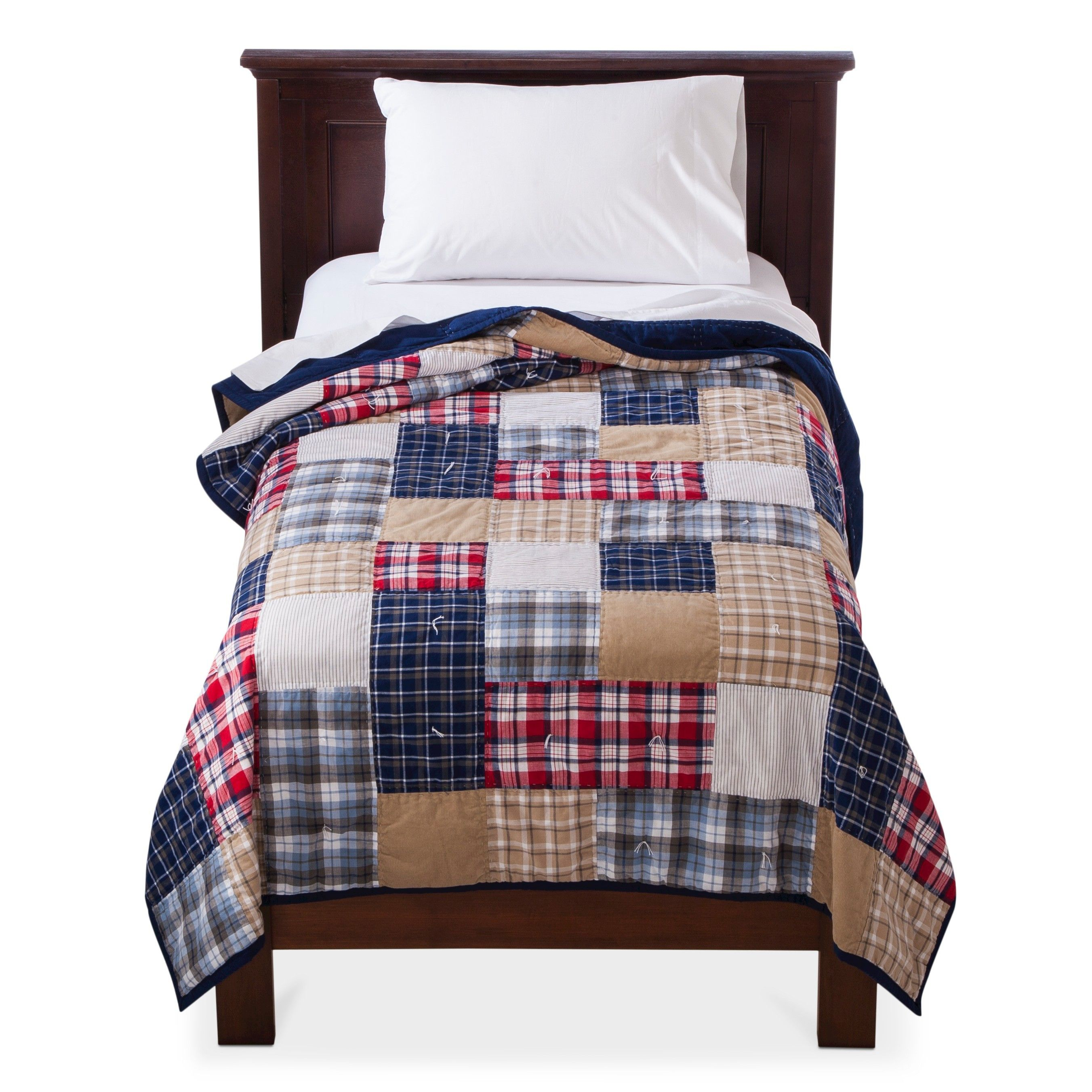 Circo Patchwork Quilt Boys Bedroom Decor Queen Bed Quilts Boys Bedding