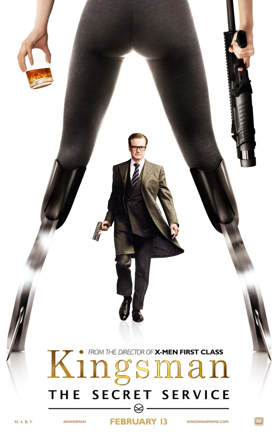 KINGSMAN: The Secret Service | Colin Firth | In theaters February 13, 2015