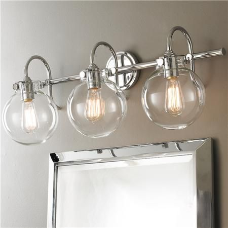 "Bathroom Light Fixtures Edison downtown edison 28 1/2"" wide brushed nickel bath light - style"