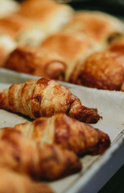 fresh croissants  |  le marche st george