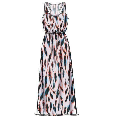 Simple Maxi Dress Pattern