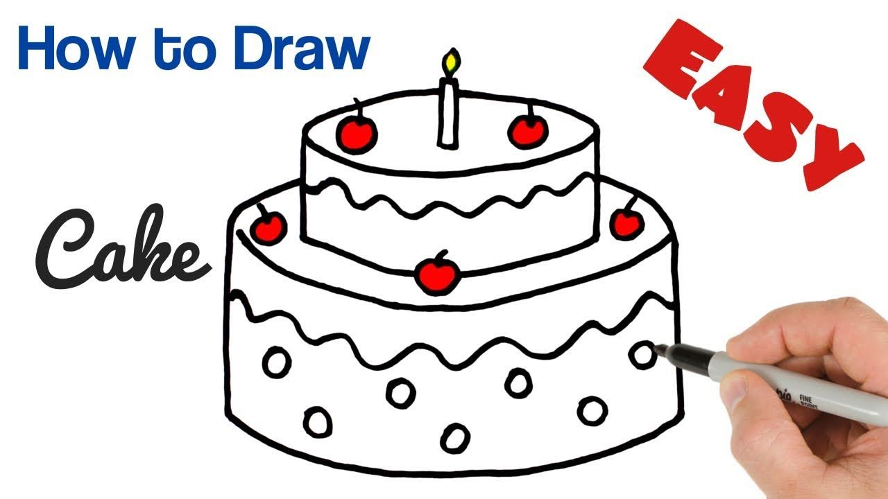Birthday Pictures To Draw Easy