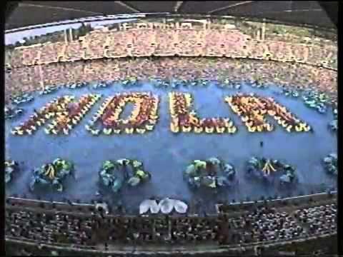 Inaguracion Juegos Olimpicos Barcelona 1992 Youtube Barcelona