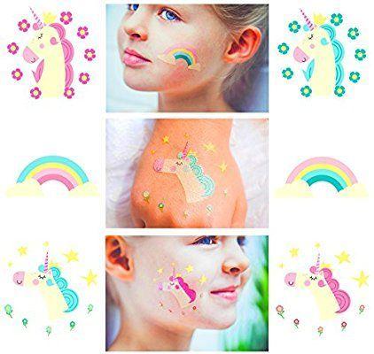 Amazon Unicorn Temporary Tattoos For Girls