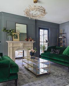 Living Room Design Ideas   Furniture, Sofa, U0026 Interior Inspiration | Green  Velvet Sofa, Green Velvet And Living Rooms