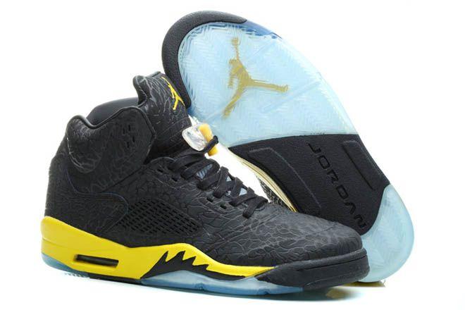 Black d Air Jordan V 3Lab5 Chicago Nike Mens FootwearColor Yellow Black