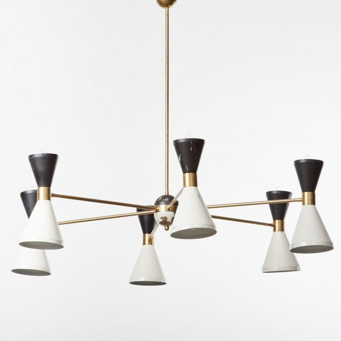 Cielo 6 Light Chandelier In Oil Rubbed Bronze design by BD