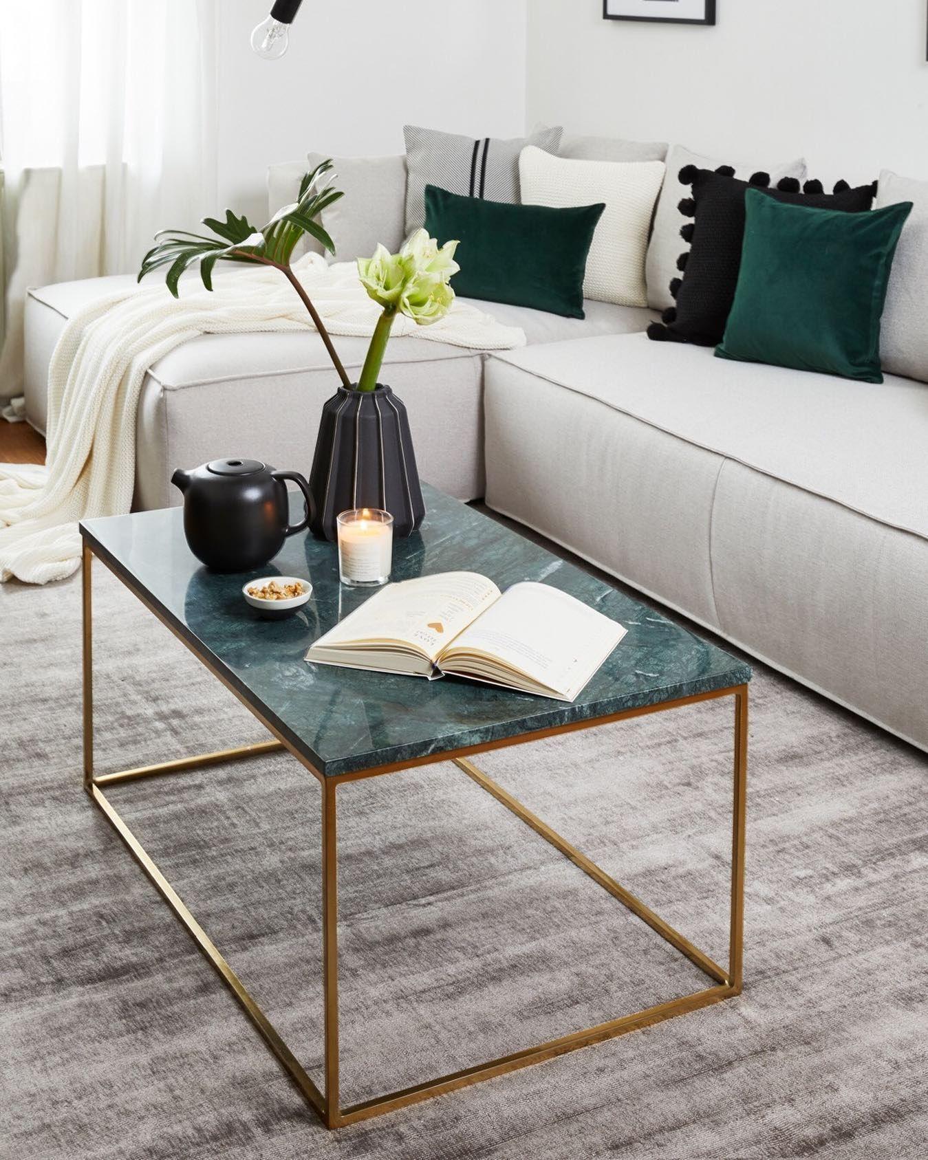 Table Basse En Marbre Alys Salon En 2019 Deco Maison