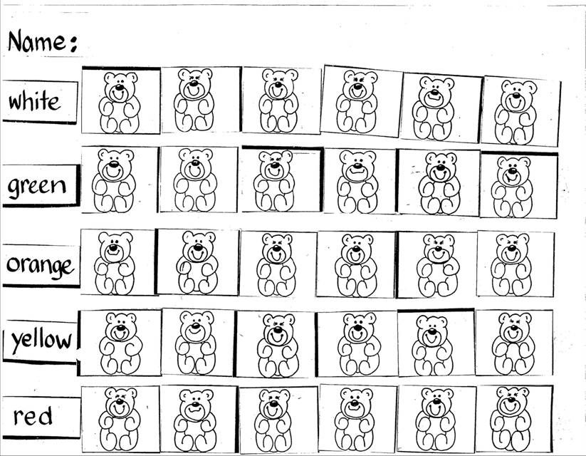 Counting Bear Worksheet All Things Math Pinterest Worksheets