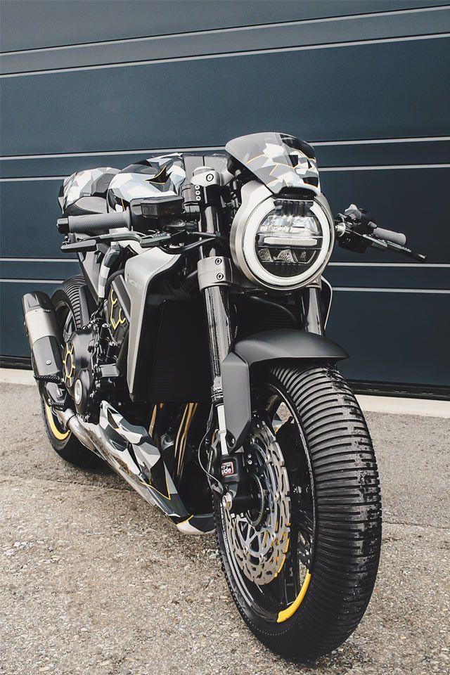 NEW MODEL ARMY. Gannet & Fuhrer's Honda 'CB1000R-adical' Neo Racer - Pipeburn.com