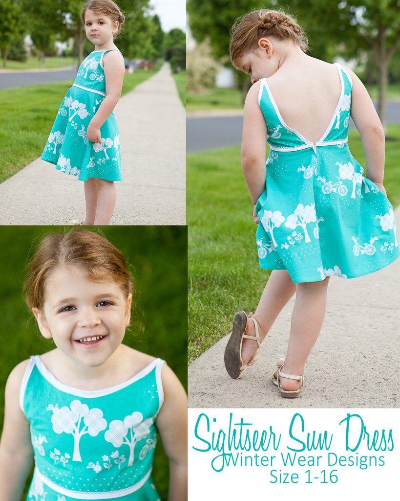 667a8f656 Sightseer Sun Dress for Girls size 1-16