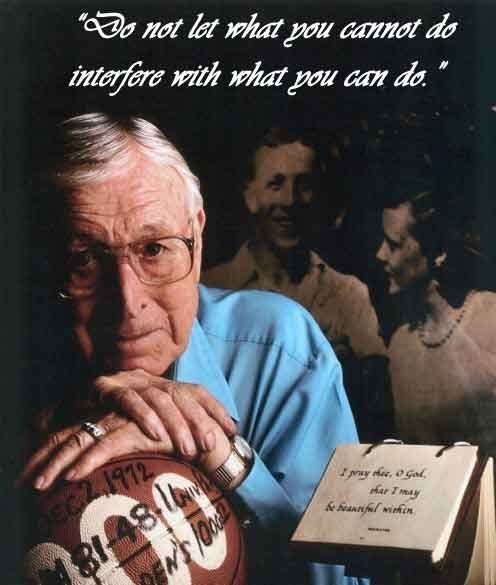 John Wooden Leadership Quotes New John Wooden Inspirational Quotes  Motivational Quotes For Athletes . Inspiration Design