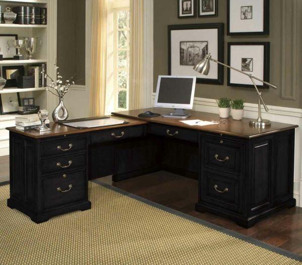 Dimensionen bei dem Büromöbel Design - büromöbel design eckform ...