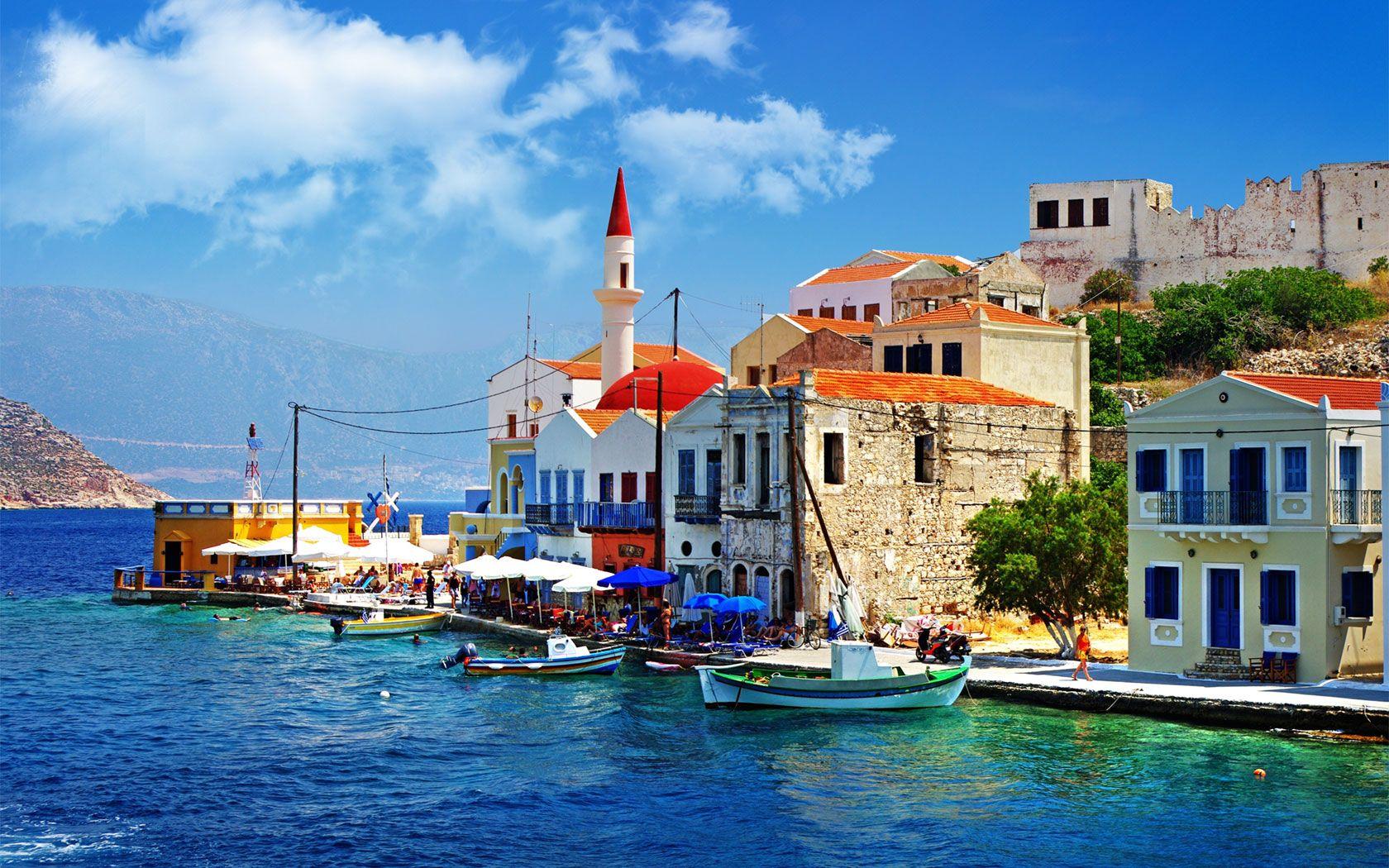 Greece Pier – HD Love Wallpaper
