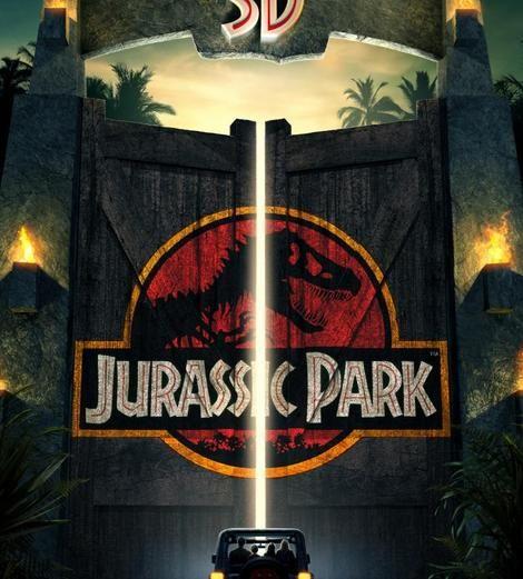 Jurassic Park 3D Opening Night