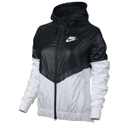 nike windrunner jacket womens black and white oxfords