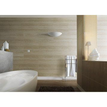 Lambris Pvc Pin Nordique Taupe Attitude Grosfillex L 120cm X L 18cm Ep 8mm New Bathroom Bathroom Bathtub Et Balcony Design