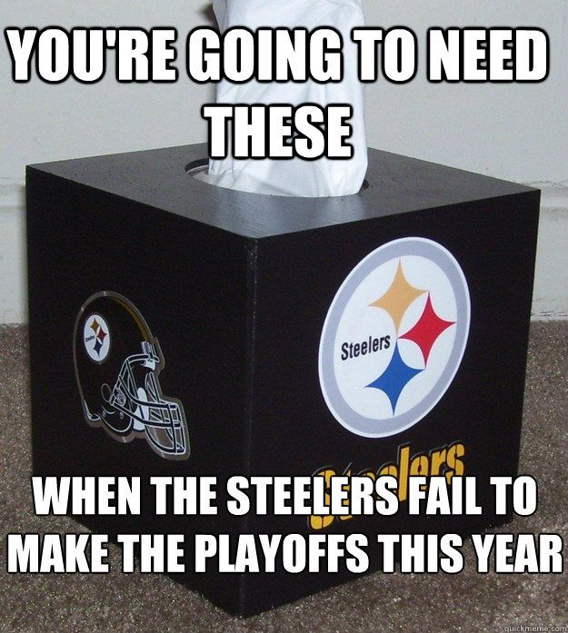45d25f57 Funny Anti Steelers Pictures | Steelers Tissues - youre going to ...