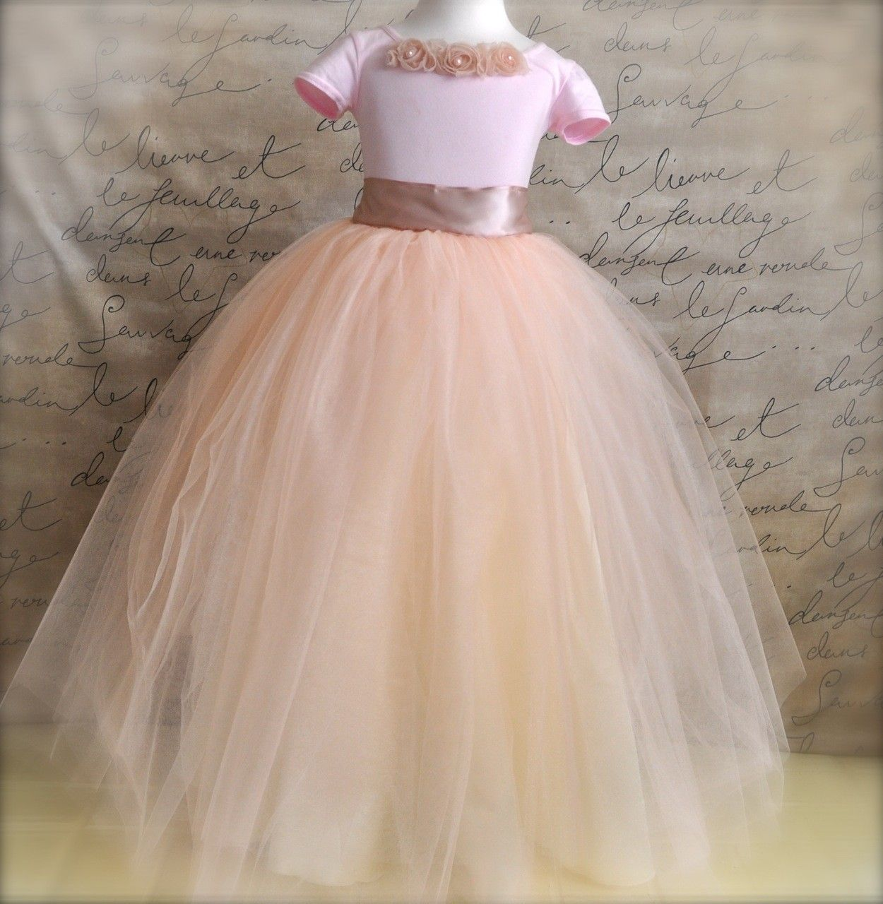 Little Girls through Preteen pink or white lined leotard to match all our tutus. No blossoms.. $22.00, via Etsy.
