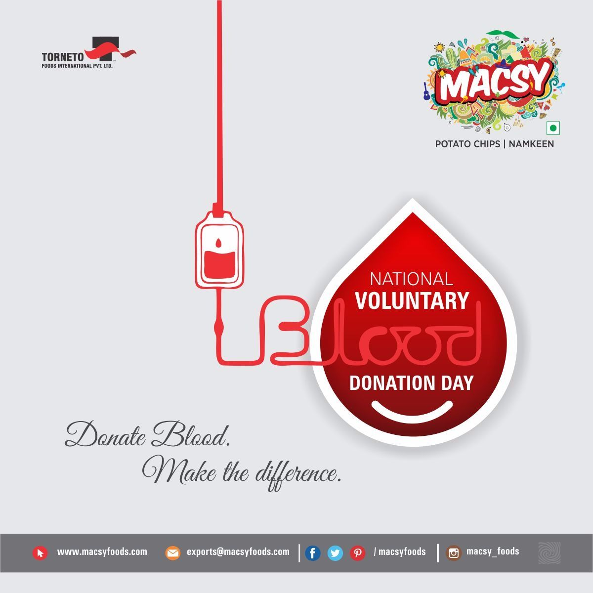 Donate Blood. make the difference, macsy food instafood