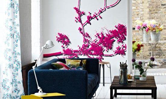 sch ner wohnen farbrausch frische farbgestaltung wohneinrichtungsideen pinterest sch ner. Black Bedroom Furniture Sets. Home Design Ideas