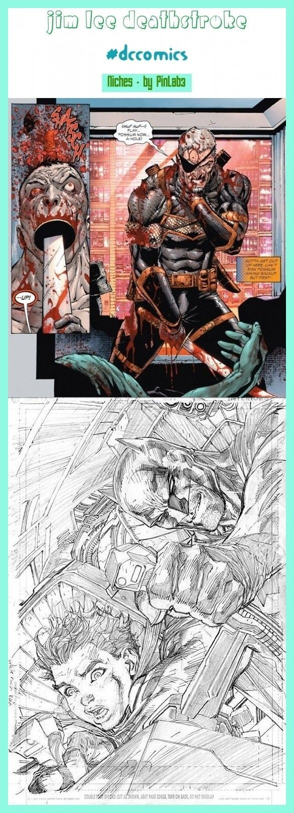 Jim Lee Deathstroke jim lee art, jim lee sketch, jim lee joker, ...