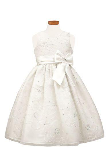 Sorbet Floral Satin Fit & Flare Dress (Toddler Girls, Little Girls & Big Girls) available at #Nordstrom